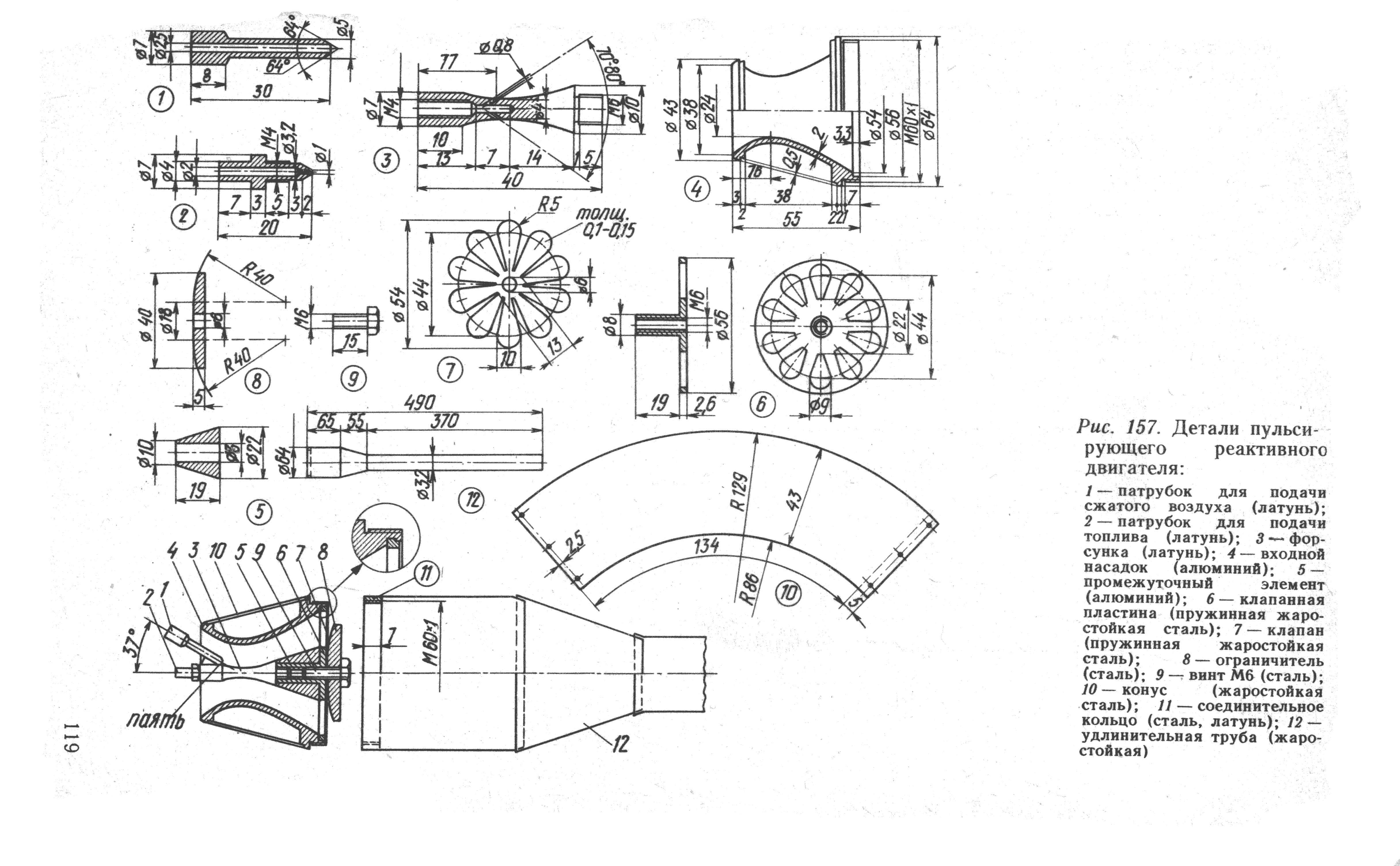 Как сделать реактивный двигатель своими руками6
